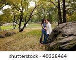 a couple having fun in a park | Shutterstock . vector #40328464
