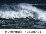big sea wave   Shutterstock . vector #403286431