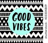 hand lettered inspirational... | Shutterstock .eps vector #403304809