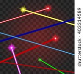 abstract red lasers beams on a... | Shutterstock .eps vector #403314589