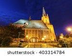 Cathedral Basilica of St. James the Apostle in Szczecin. Szczecin, West Pomeranian, Poland