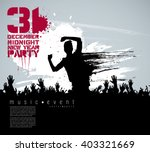 concert. vector illustration | Shutterstock .eps vector #403321669