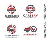 car service garage logo  shop... | Shutterstock .eps vector #403323709