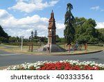 Small photo of ROTORUA - NEW ZEALAND - MARCH 11: Arawa war memorial in government garden of the city on North Island, on March 11, 2005 in Rotorua, New Zealand