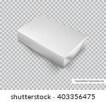 vector blank white foil food... | Shutterstock .eps vector #403356475
