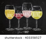 poster wine with four main... | Shutterstock .eps vector #403358527