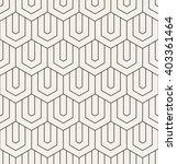 vector seamless pattern. modern ... | Shutterstock .eps vector #403361464