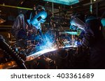 the movement of workers with... | Shutterstock . vector #403361689