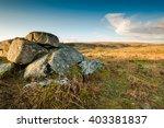 granite rocks formations in... | Shutterstock . vector #403381837