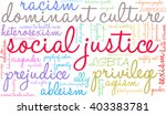social justice word cloud on a... | Shutterstock .eps vector #403383781