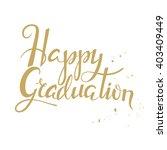 hand drawn lettering poster... | Shutterstock .eps vector #403409449