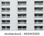 Windows Of Building Condominium