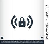 wi fi password vector icon | Shutterstock .eps vector #403452115
