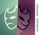 imaginative carnival mask | Shutterstock . vector #403454611