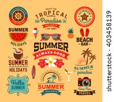 vintage summer design and... | Shutterstock .eps vector #403458139