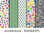 simple wrapping paper in... | Shutterstock . vector #403466191