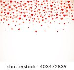 colorful background with heart... | Shutterstock .eps vector #403472839