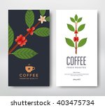packaging design for a coffee.... | Shutterstock .eps vector #403475734