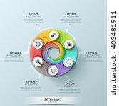 modern circle business template.... | Shutterstock .eps vector #403481911