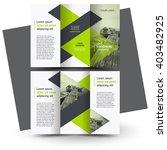 Brochure design, brochure template, creative tri-fold, trend brochure | Shutterstock vector #403482925