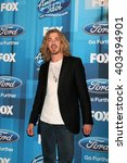Small photo of LOS ANGELES - APR 7: Bucky Covington at the American Idol FINALE Arrivals at the Dolby Theater on April 7, 2016 in Los Angeles, CA