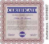 certificate template eps10 jpg... | Shutterstock .eps vector #403498807
