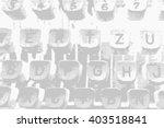 retro keys old typewriter ... | Shutterstock . vector #403518841