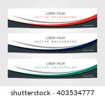 abstract website banner design... | Shutterstock .eps vector #403534777