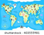 concept design world map with... | Shutterstock .eps vector #403555981
