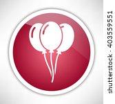 balloons icon. | Shutterstock .eps vector #403559551
