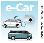electric van illustrator | Shutterstock .eps vector #403564381