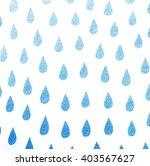 blue rain textures on a white... | Shutterstock . vector #403567627