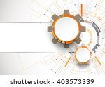 abstract orange colored... | Shutterstock .eps vector #403573339