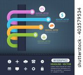 colorful arrows  infographics... | Shutterstock .eps vector #403579534