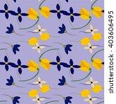 light floral background in...   Shutterstock .eps vector #403606495