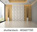 interior of empty room with... | Shutterstock . vector #403607785
