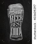 poster glass lettering best... | Shutterstock . vector #403609297