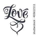 love vector on white background.... | Shutterstock .eps vector #403612111