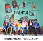 Stock photo college student education knowledge study young concept 403615324