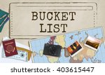 bucket list experience... | Shutterstock . vector #403615447