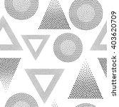 vector geometric seamless...   Shutterstock .eps vector #403620709