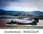 Small photo of BARCELONA - MARCH 3: Felipe Massa of Williams F1 Team at Formula One Test Days at Catalunya circuit on March 3, 2016 in Barcelona, Spain.