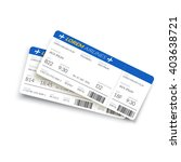 boarding pass ticket. simple... | Shutterstock .eps vector #403638721