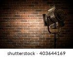 vintage theater   movie spot... | Shutterstock . vector #403644169