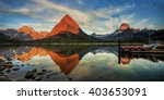 Morning At Swiftcurrent Lake I...