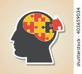 Stock vector puzzle icon design vector illustration 403659034