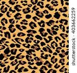 vector leopard seamless pattern.... | Shutterstock .eps vector #403662259