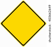 warning sign | Shutterstock .eps vector #403662649