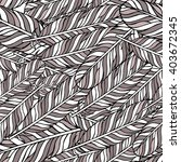 pastel grey seamless pattern... | Shutterstock .eps vector #403672345