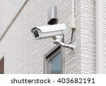 video camera security system on ...   Shutterstock . vector #403682191